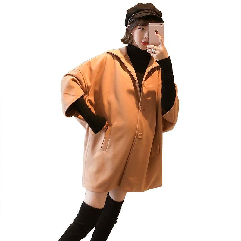 Kadın İlkbahar Sonbahar Kış Hamile Coat Casual Katı Sıcak Ceketler Coats İçin Kadın Hamilelik Giyim Moda İki parça Suit