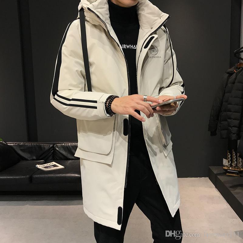 est lâche des hommes veste d'hiver des hommes veste courte en coton coréenne mode hiver veste en coton épais bouchon