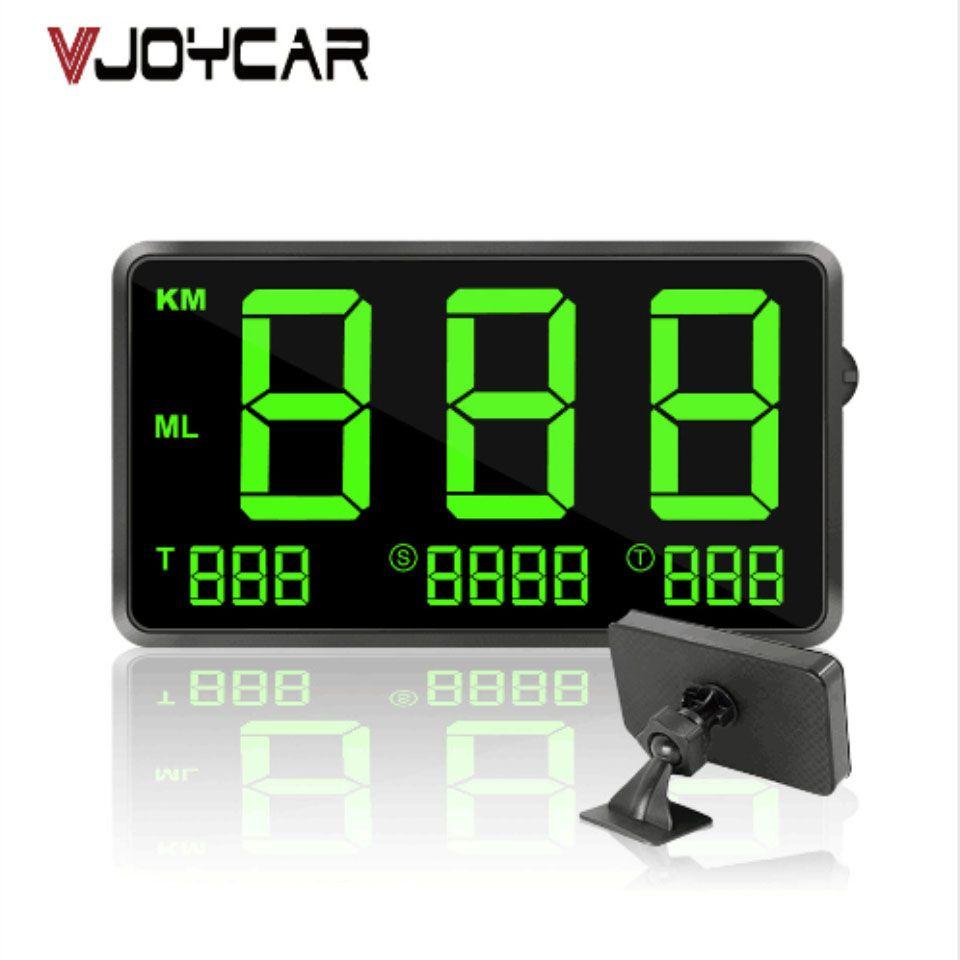 """utomobiles Motosiklet GPS Kilometre 4.5 \"""" Hız Yolölçer Kilometre Yolölçer Hud Ekran Dijital Araç Hız Alarmı MPH KMH Rakım Displ ..."""
