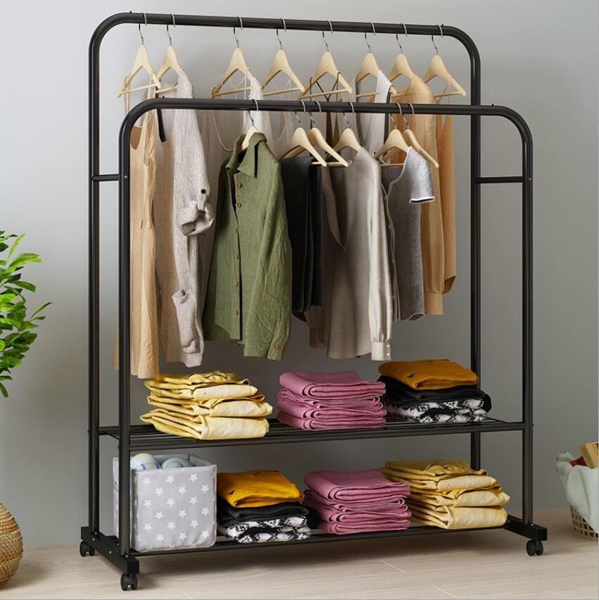 Kleiderhaken Steh Aufhänger Storage Rack kreative Schlafzimmer-Wohnzimmer-Möbel