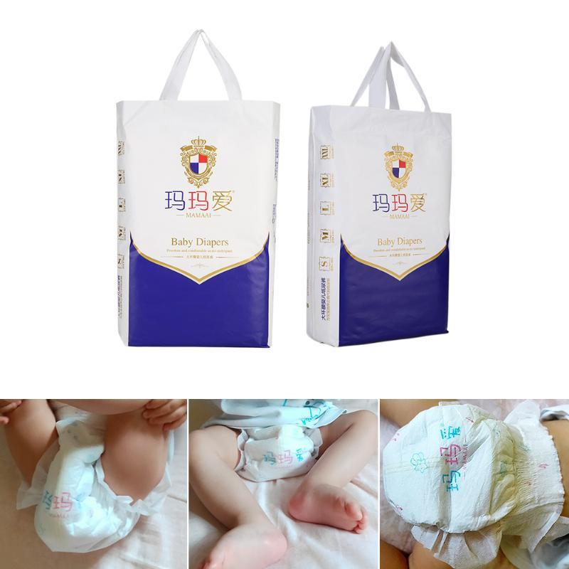 1 Bag Breathable Baby Diapers Panties Disposable Newborn Infant Changing Nappy for Household Children Learning Ornament Portable