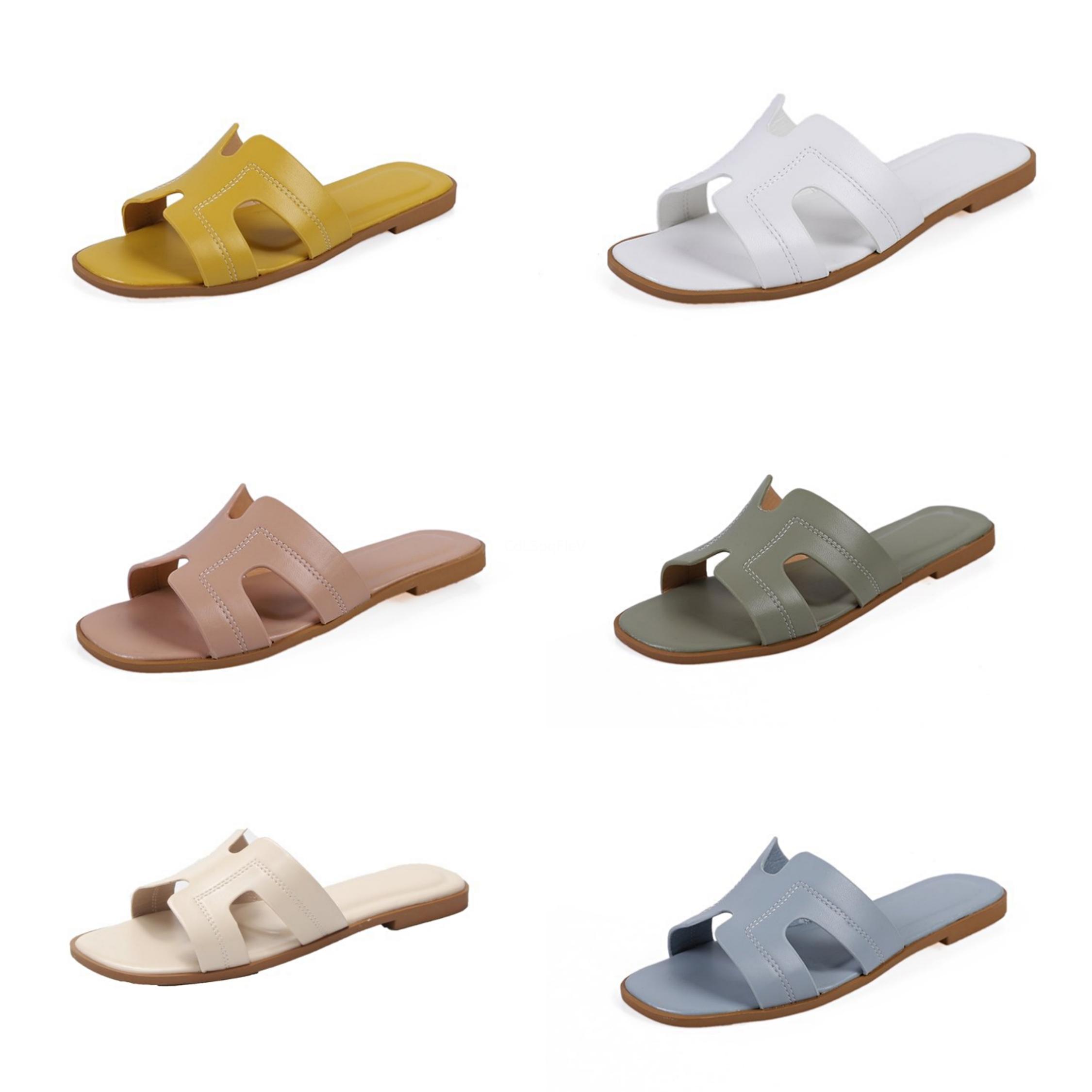 Oeak Женская Обувь Богемия Мода Дамы Тапочки Летом Sauqre Каблук Ч. Обувь На Открытом Воздухе Женщины Тапочки Скольжения На 2020 В70#788