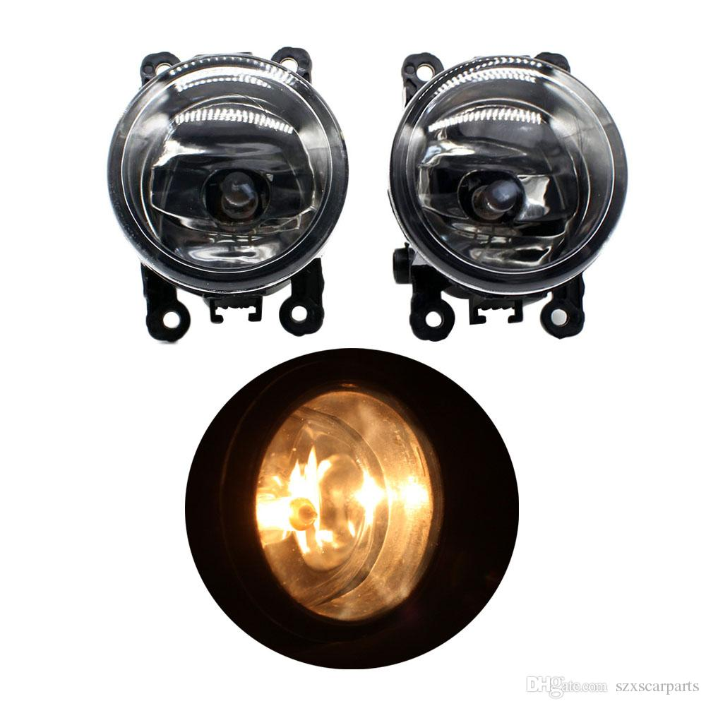 2pcs 자동 오른쪽 / 왼쪽 안개 빛 램프 스타일링 H11 할로겐 빛 12V 55W 전구 어셈블리 푸조 307 CC 3B 컨버터블 2003-2007