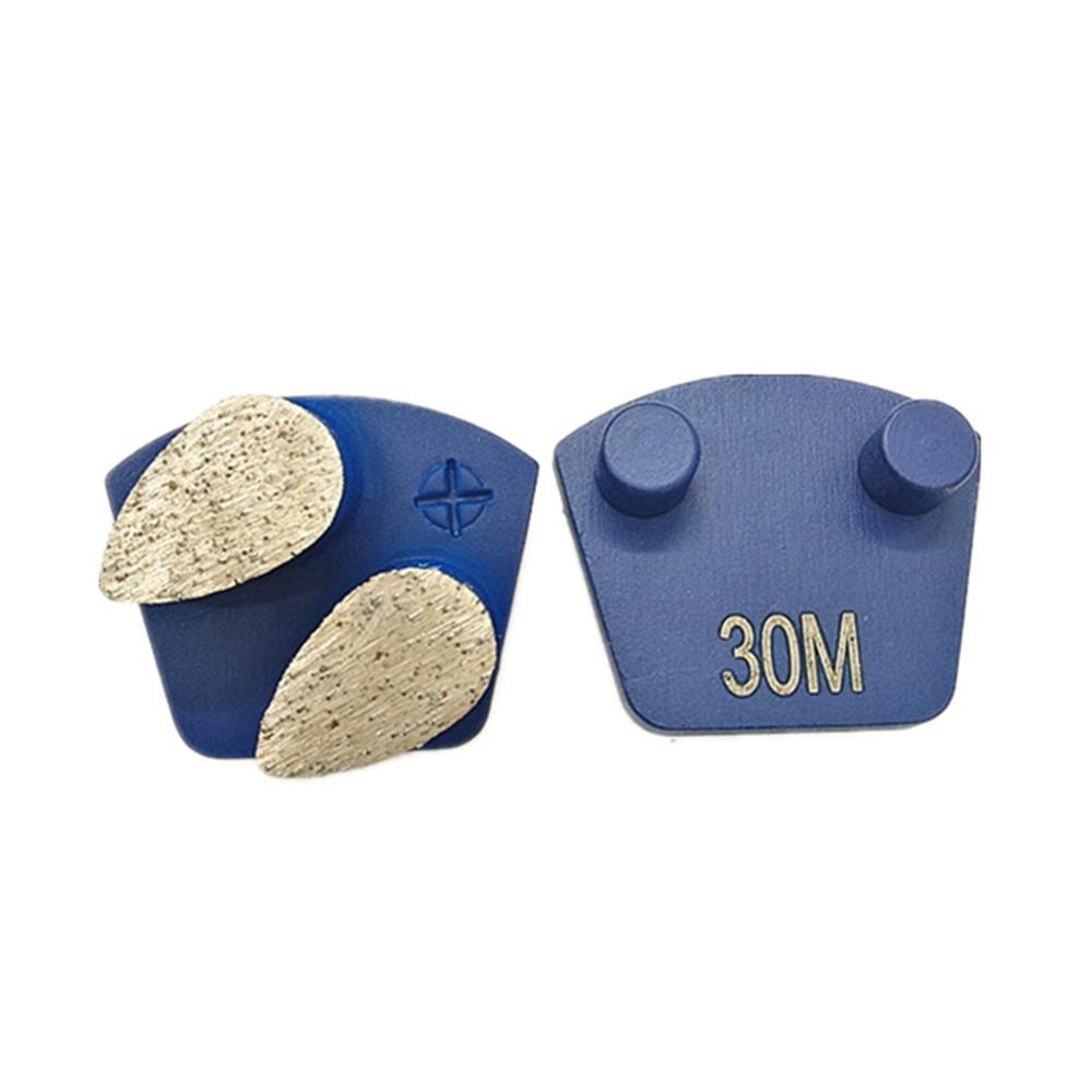 Hard Metal Bond Алмазный Plug N Go Абразивной обувь Werkmaster подключите Алмазное покрытие шлифовального Сегмент для бетонных полов 12PCS