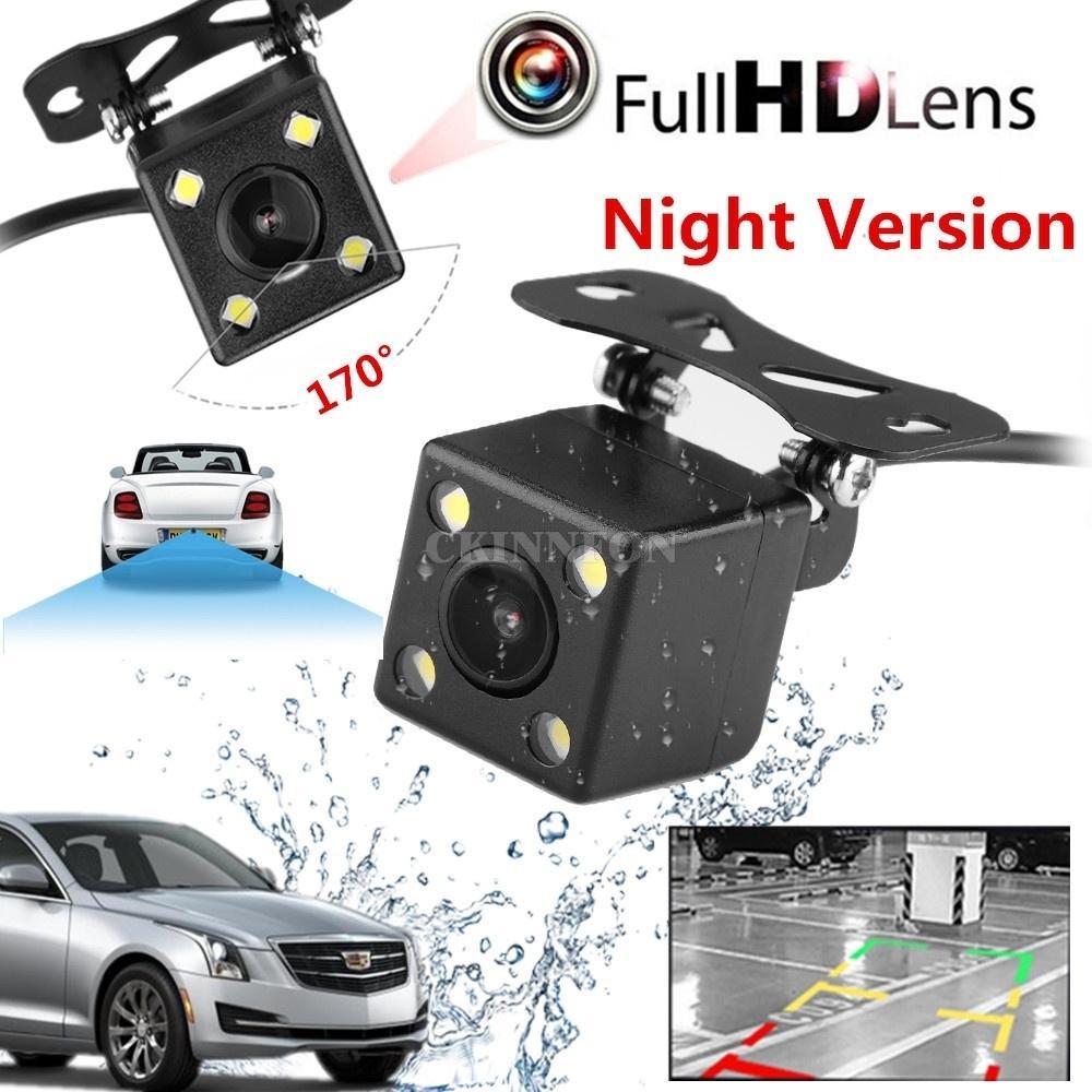 DHL 50PCS 자동차 미니 (170) 방수 IP67 카메라 나이트 비전 주차 반전 지원 리어 뷰 카메라를 LED