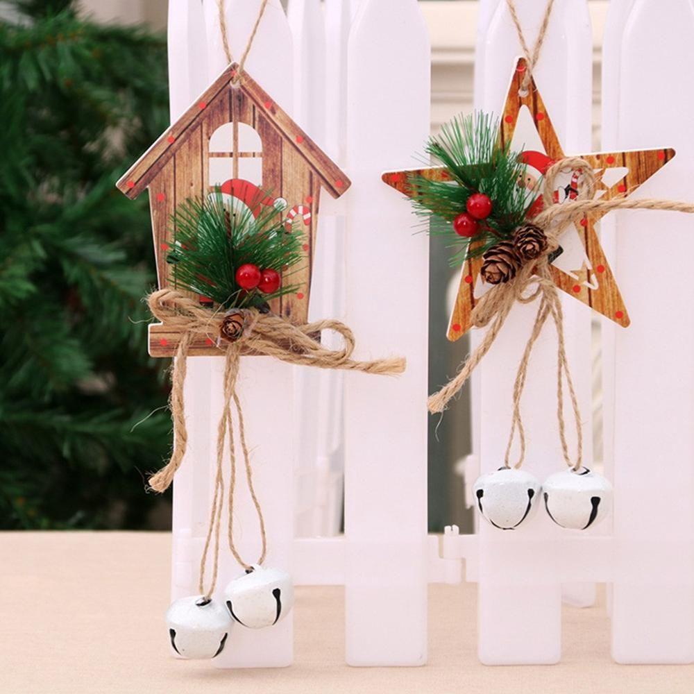 Noel Yılbaşı Ağacı Dekorasyon Ev Festivali Parti Süsleme Kolye # 927 Asma Hediye kolye Rüzgar Bell Kapı Asma