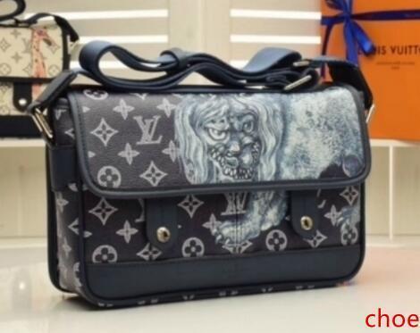 M54248 Canvas Shoulder Bag Messenger Bag 3037 Totes Borse Top Manico Boston Croce Body Messenger Shoulder Bags