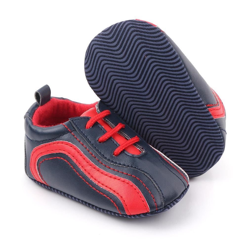 Zapatos de bebé recién nacido del resorte de los niños suave de fondo zapatos zapatillas de deporte Niños bebés antideslizantes primeros caminante