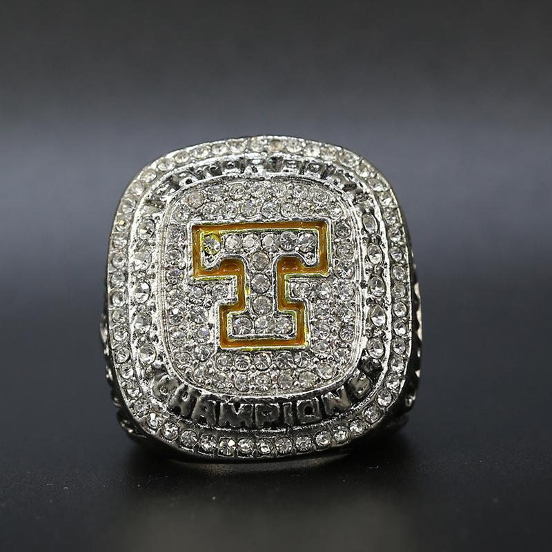 2015 Tennessee Volunteers Gator Bowl College Football Championship Ring American Football Fan Souvenirs Alloy Ring