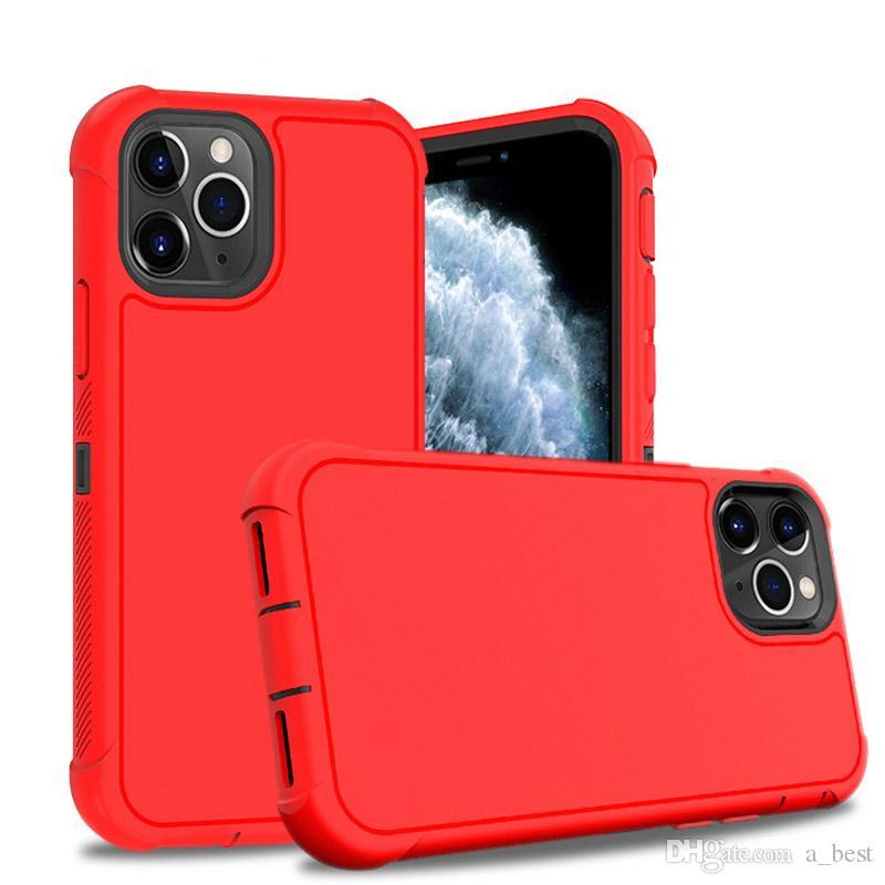 Per il caso Protect cassa del telefono progettista mela bicolore TPU Shock-Proof per l'iphone 11 pro max 11 Pro X XR samsung s10 note10
