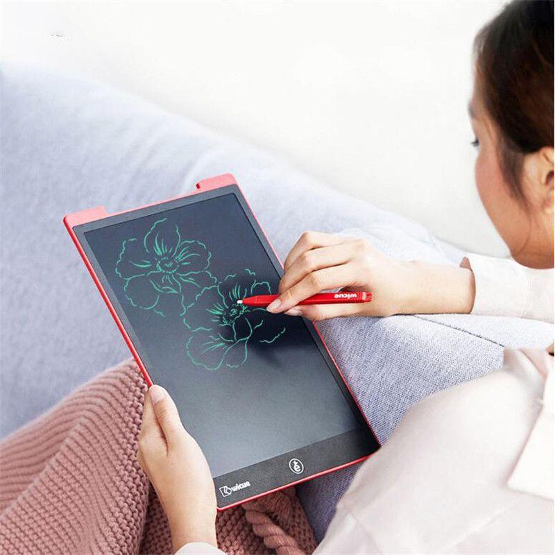 Wicue 12 pouces LCD enfants Conseil Handwriting coloré d'écriture numérique Dessin tablette Imaginez pad Développer idée Kid