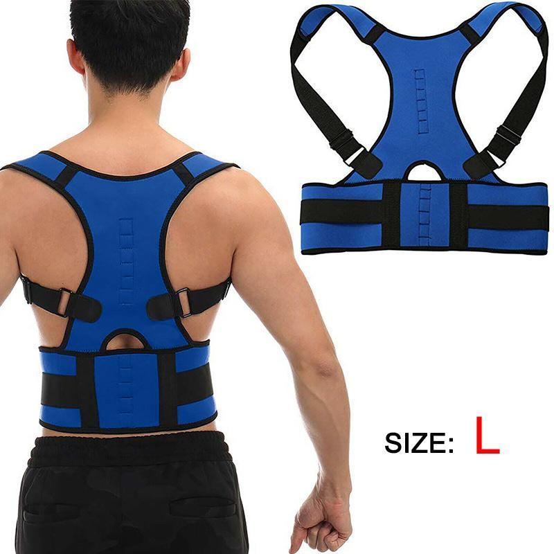 Voltar Terapia Brace ajustável ombro para trás Postura Corrector Clavícula coluna lombar Brace Suporte Belt Postura Correction