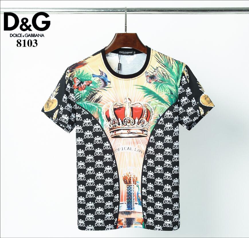 2020 camisa de los hombres llanos Phillips camiseta ocasional de la manera aptitud fresco O-cuello del oso T de los hombres de camiseta de verano de manga corta Ropa GP226