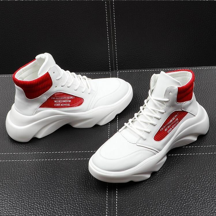 High Quality Men Elevator Shoes Fashion