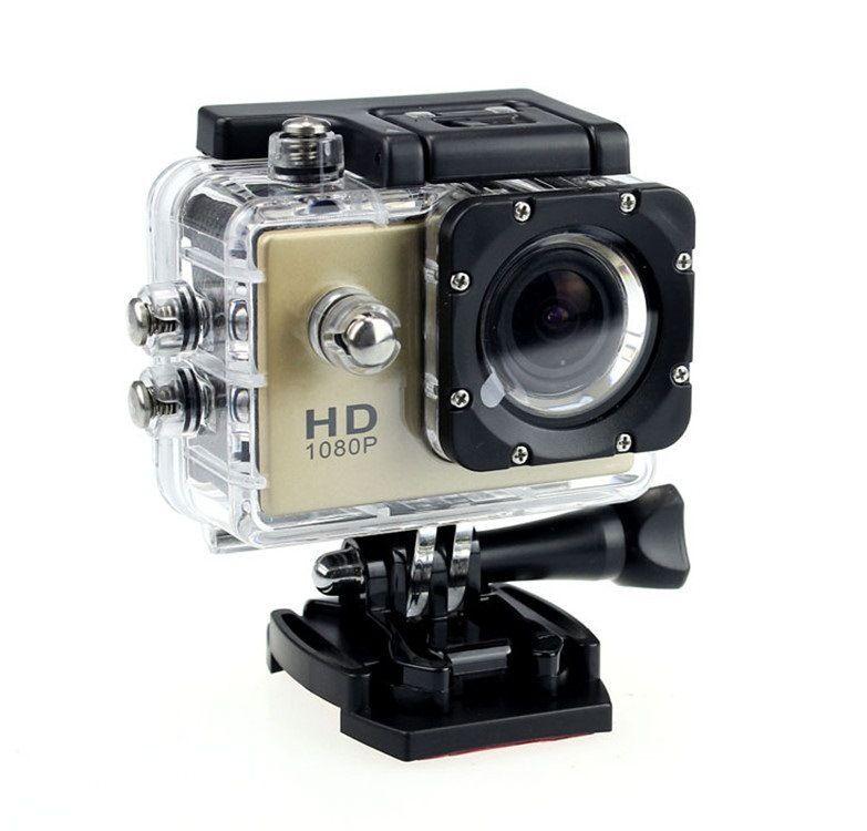Toptan SJ4000 Full HD Eylem Dijital Spor Kamera 2inch Ekran Su geçirmez 30M DV Kayıt Mini Sking Bisiklet video