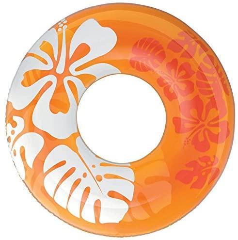 Inflable natación anillo de hibisco adultos anillo del flotador de gran remar vida engrosada boya opcional tricolor