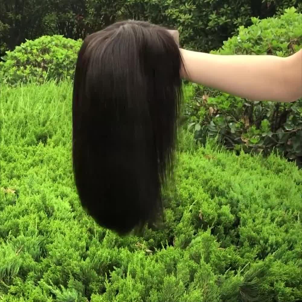 Breve Bob parrucche 8-16 pollici Pre-pizzico Bob merletto anteriore parrucche brasiliano non trattato Bob diritto parrucche per donne di colore