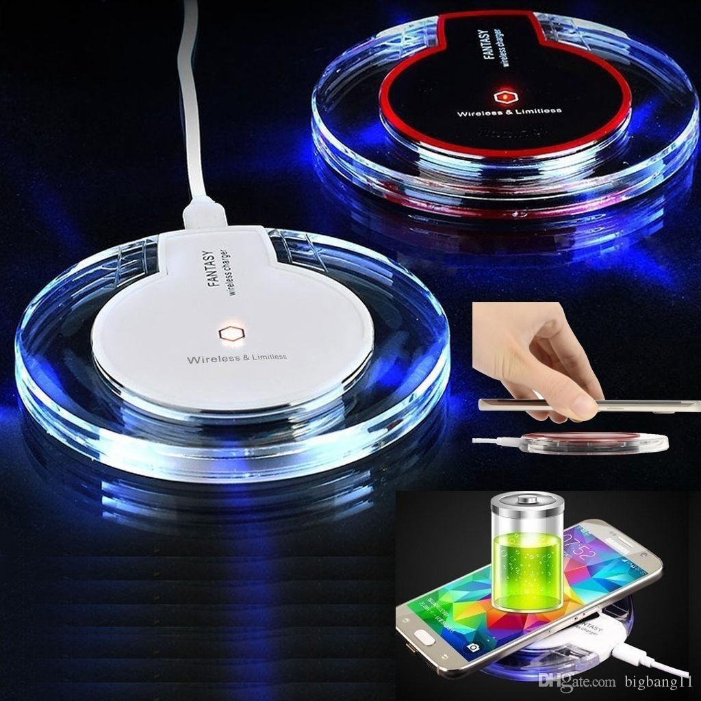Brand new Promotion Wireless Charging Pad Phone Wireless Charger for Samsung Android e384 hot sell For QI Cell Phone Chargers