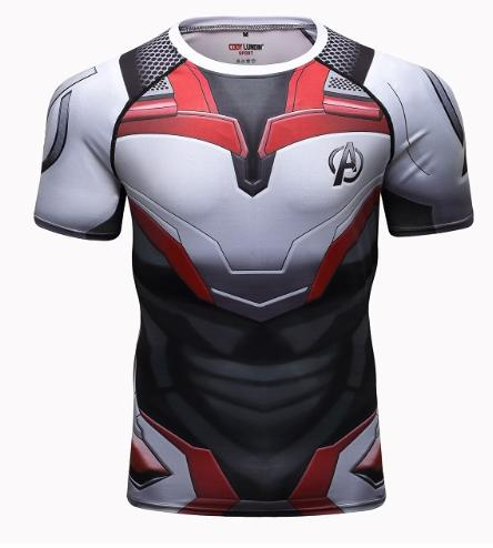 2019 Avengers 4 Endgame Quantum War 3D Printed T Shirts Men Compression Shirt Iron Man Cosplay Costume Long Sleeve Tops for Male N1114