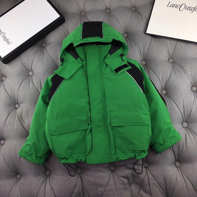 çocuk kat ceketler gençlerin kış kat aşağı erkekler kızlara giysi 191202-6312 * 655