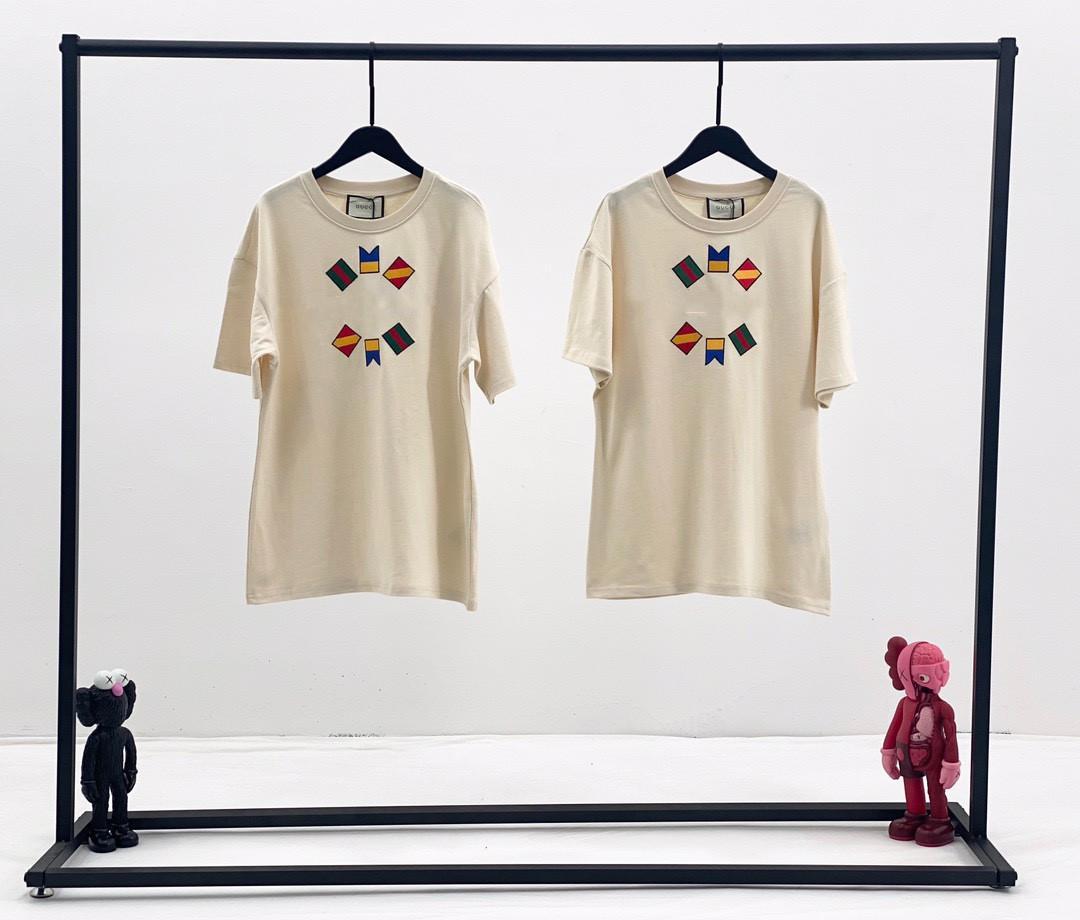 Womends Tee Shirt Designer casuale 2020 Estate manica corta T-shirt Moda di lusso delle donne di alta qualità Carino Splice maglietta Panno