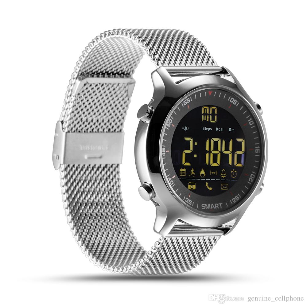 EX18 Smart Watch IP67 wasserdichte Passometer intelligente Armbanduhr Sport Aktivitäten Tracker Bluetooth Kamera Smart-Armband für IOS Android-Uhr