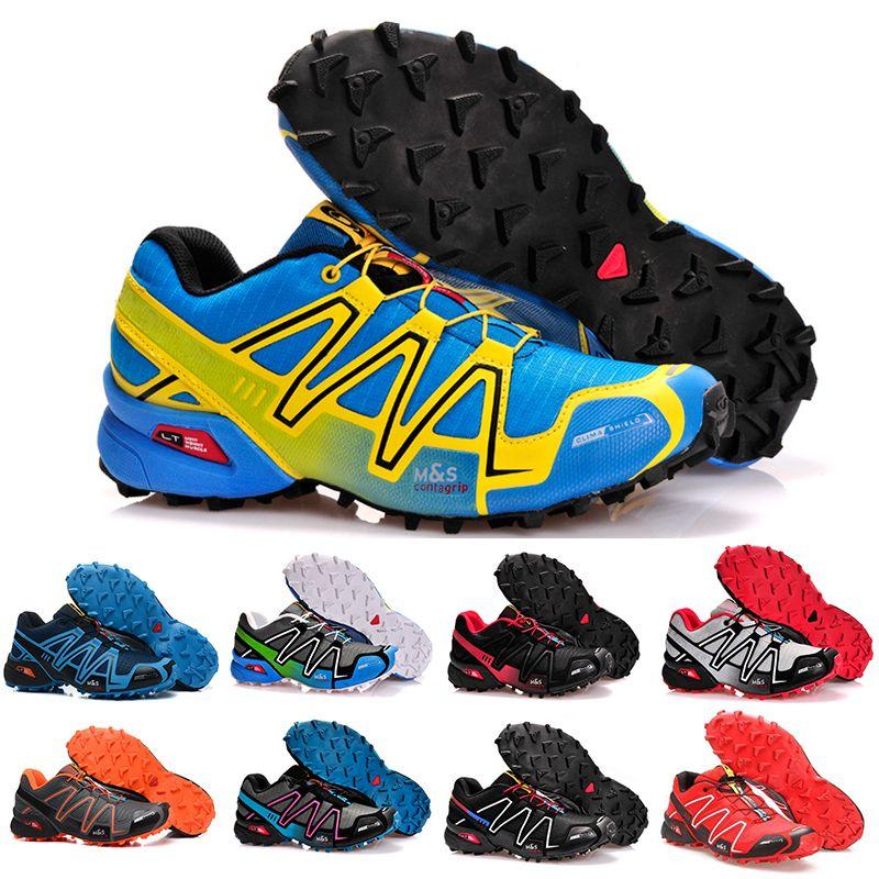 Compre Salomon Speedcross 3 4 Venta Barata 2019 Speed Cross 3 4 CS IV  Hombres Zapatillas Para Correr Caminar Al Aire Libre Zapatillas Deportivas  ...