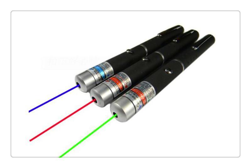 Yeşil Kırmızı Işık Lazer SOS Montaj Için Işın Lazer Pointer Kalem Kalem Gece Avcılık Öğretim Xmas Hediye OPP Paketi