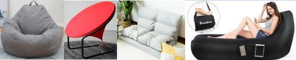 单、双人使用的懒人变形椅、沙发