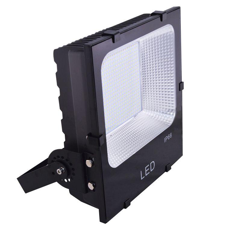 هايت سطوع LED أضواء 100W LED الكاشف SMD5730 lgihts المحكمة كرة القدم ساحة الجسم الأسود الإضاءة 3 سنوات أضواء في الهواء الطلق