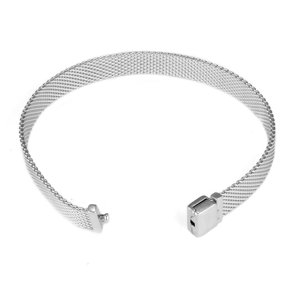 Pandulaso pulsera de Reflexión para la mujer joyería de DIY que hace encantos aptos Clip Reflexión plata esterlina SH190925 pulsera al por mayor