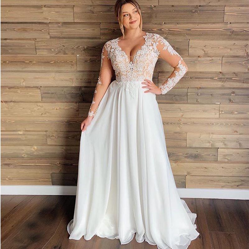 Hot Sale Plus Size Wedding Dress