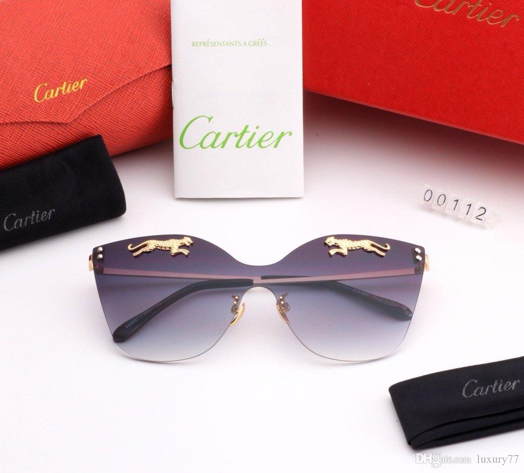 Hochwertige xxlDesigner-Sonnenbrillen Pilot Sonnenbrille UV400 Mode Männer Frauen Fahren Sportbrillen mit Kasten-Kasten