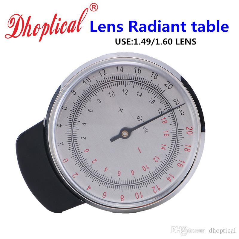 Lunettes de vue mesure de puissance horloge Lunettes de mesure mesure de puissance horloge Radiant table accessoires de lunettes pour lunettes magasin