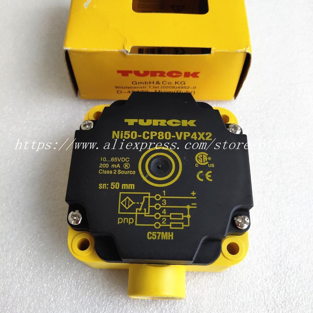 NI50-CP80-VP4X2 NI50-CP80-VN4X2 Turck Yakınlık Anahtarı Sensörü Yeni Yüksek Kalite