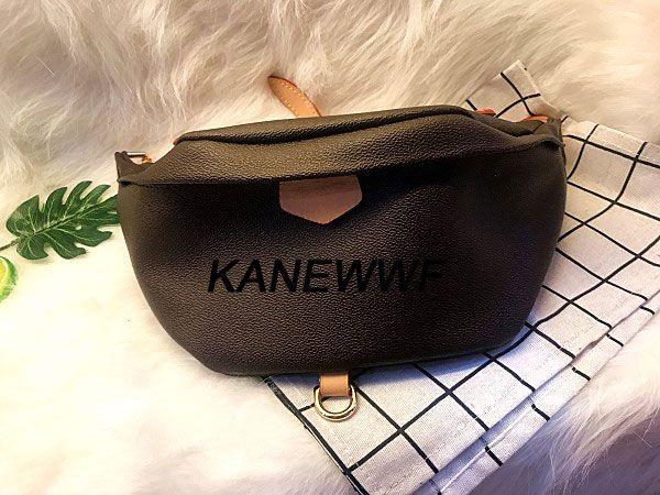 Mulheres Cross Body Belt Bag Sacos de Cintura Material Autn Bumbag Cross Leather Fanny Pack Bum Sacos de Cintura