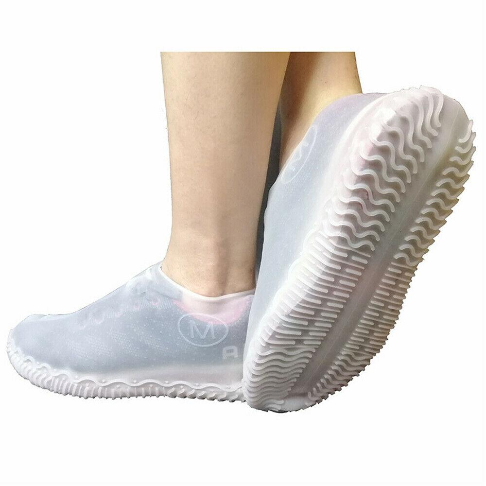 20 HIGH QUALITY REUSABLE OVERSHOES Shoe Covers NON SLIP Free UK p/&p