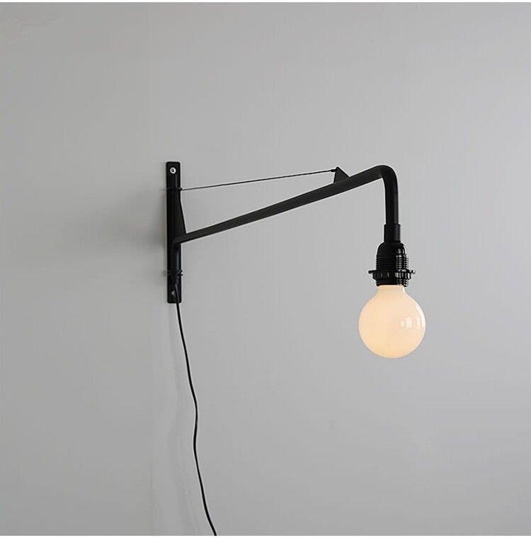 Wandlamp Applique Acheter Tige Cantilever Luminaire De Jean Designer Led Murale Retro Allée Longue Suspension Prouve Potence wOmNv8n0