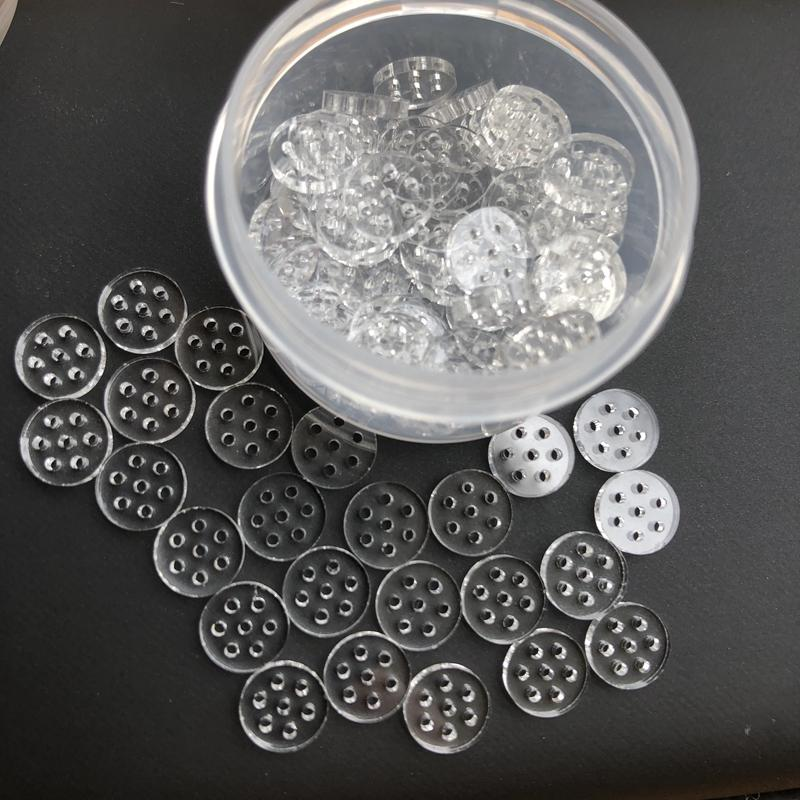 Heneycomb Glas Rauchen Screen Filter 7mm mit 7 Löchern für Handrohr Glasschüssel Dry Rauchen Atmos AGO G5 Dry Herb Vaporizer