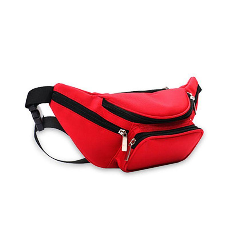 Outdoor Running Climbing Cycling Waist Bag Storage Bags Casual Phone Water Bottle Holder Single Shoulder Messenger Bags