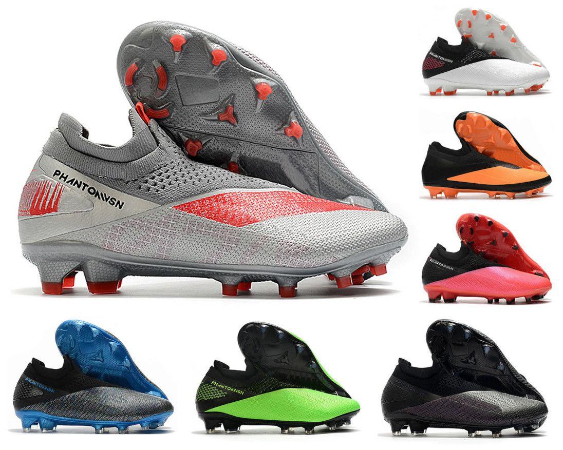 فانتوم VSN الرؤية II النخبة DF FG 2 2S الجوار حزمة المستقبل DNA الرجال السامية الكاحل لكرة القدم المرابط أحذية كرة القدم الحجم US6.5-11