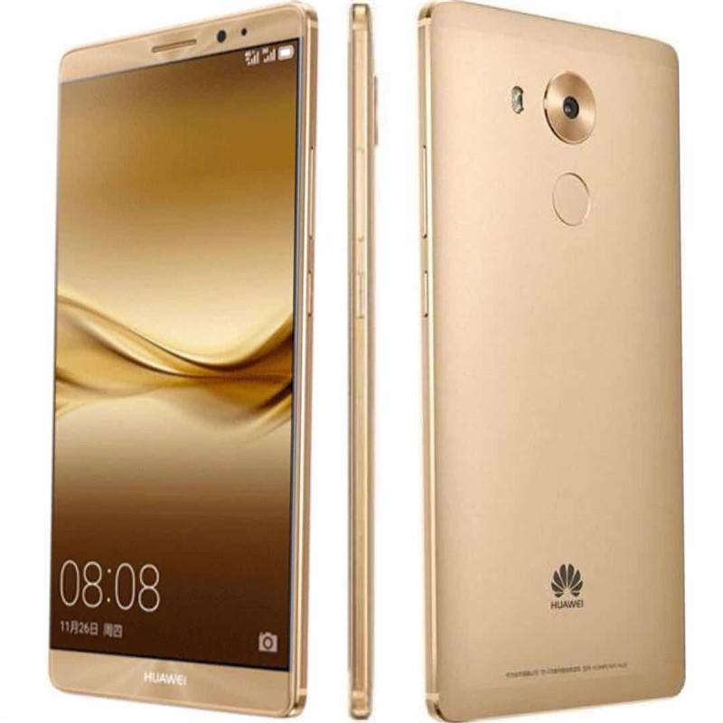 Original Huawei Mate 8 4G LTE Cell Phone 3GB RAM 32GB ROM Kirin 950 Octa Core Android 6.0 inch HD 16.0MP Fingerprint ID Smart Mobile Phone