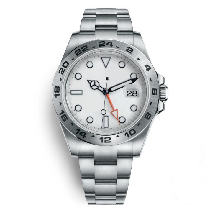 Melhores Relógios de pulso qualidade Montres De Luxo Reloj De Lujo GMT 2813 Automatic Relógios de pulso Men Mecânica Mens Watch Relógios