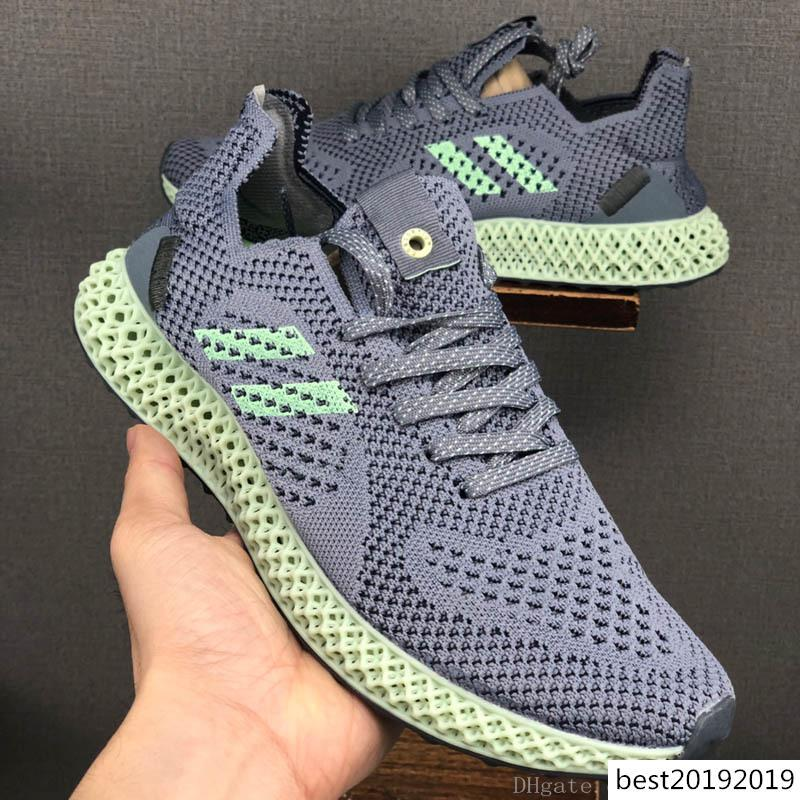Futurecraft 4d Runner Mens Daniel Arsham Scarpe da corsa Atletica stilista Alphaedge Ash Onix Aero Sport Sneakers Trainer Shoes 36-45