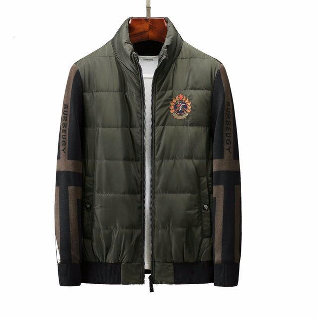 ceket erkekler büyük boy İngiltere ceket pamuk giyim moda high-end aşağı Erkekler 2019 gündelik kaliteli nakış