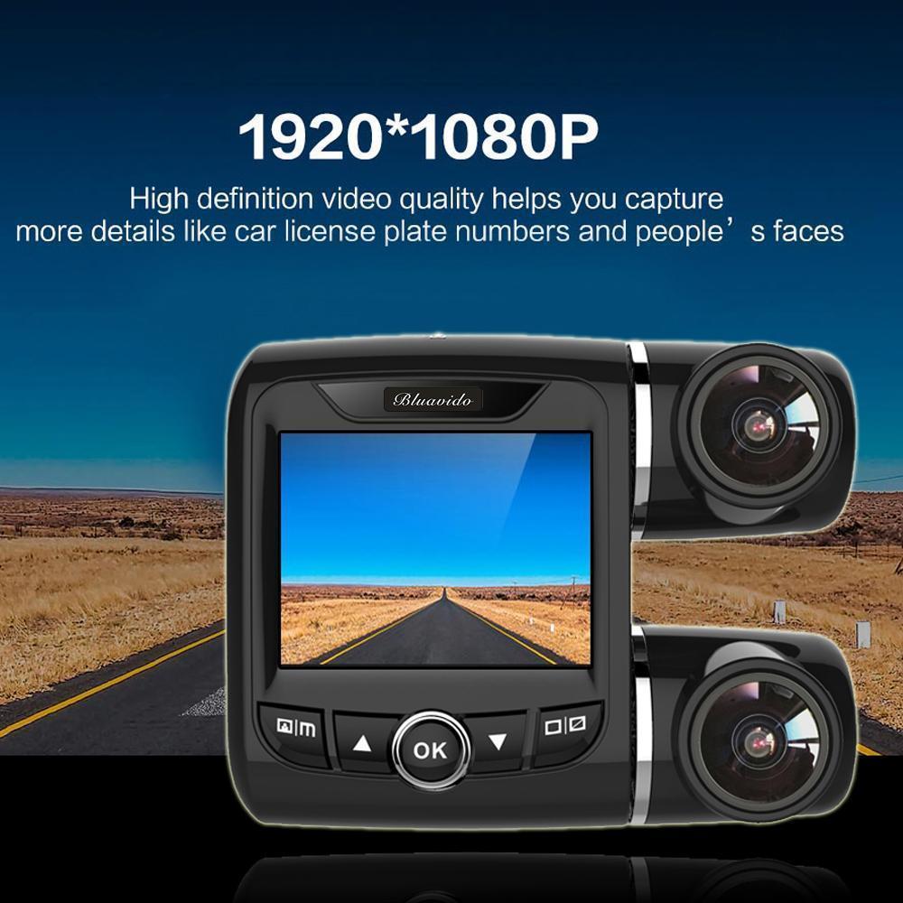 Dual Lens Auto Car Dvr 360 Degree Panoramic Video Camera Recorder Novatek 96655 Dashcam Full Hd 1080p Dash Cam Night Vision