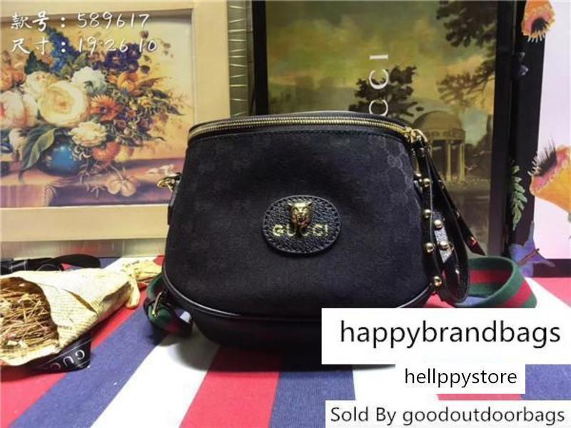 Lieferung Designer einzelner Schulter-Beutel Hochwertige Handtaschen Männer und Frauen S General Purpose 589.617 Größe 19 * 26 * 10cm