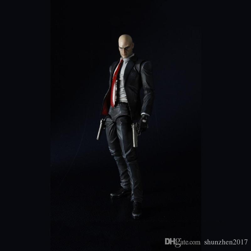 23cm play arts kai The ultimate assassin killer PVC action Figure ROM collection Model set Children's Toy
