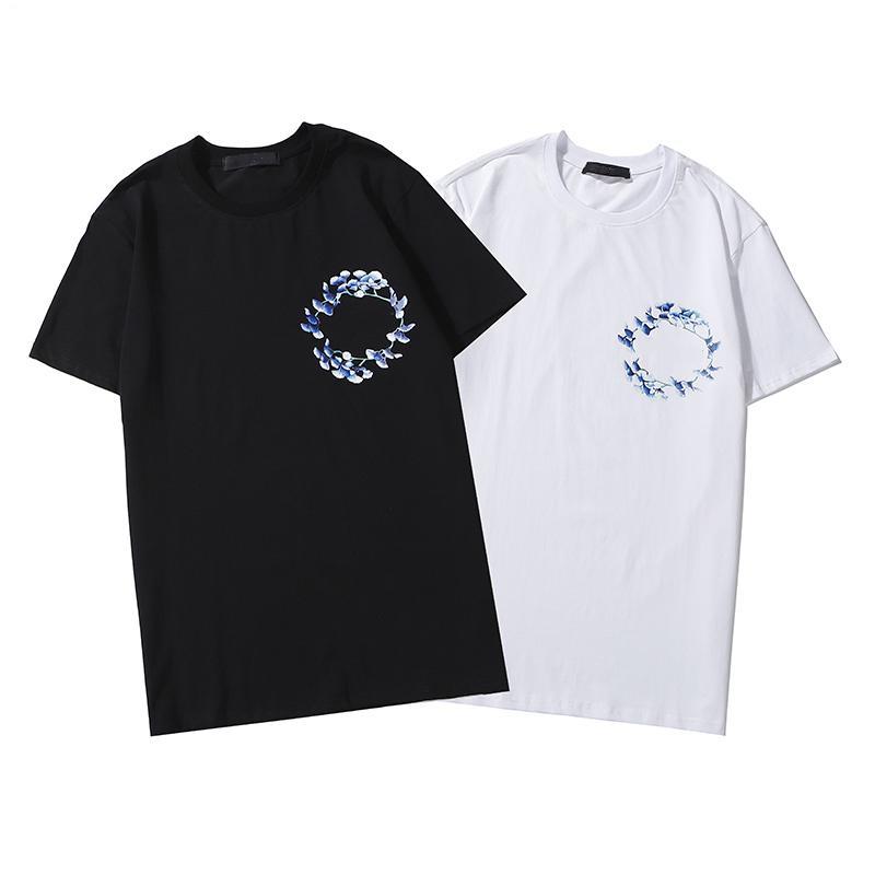 2020 Новое прибытие бренда дизайнер Мужчины Женщины Tshirt Азиатский размер S-2XL Горячие Продажа летние рубашки моды кастрировать лето с коротким рукавом Топы B105803D