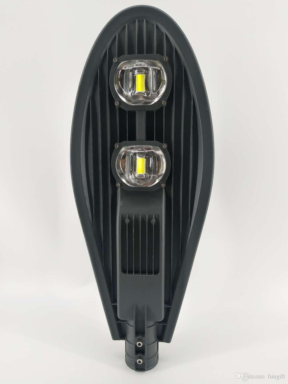 100W уличные фонари LED-роуд Улица Прожектор Сад лампы Открытый Двор освещения Водонепроницаемый IP65 85V-265V белый